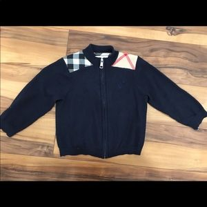 Burberry boy sweater size 18M